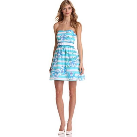 6fac1d2527e108 Lilly Pulitzer Dresses | Shorely Blue Tossing The Line Dress | Poshmark
